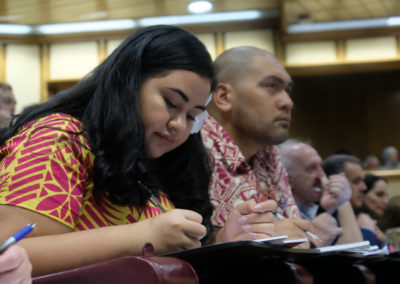Pacific Climate Warriors in session